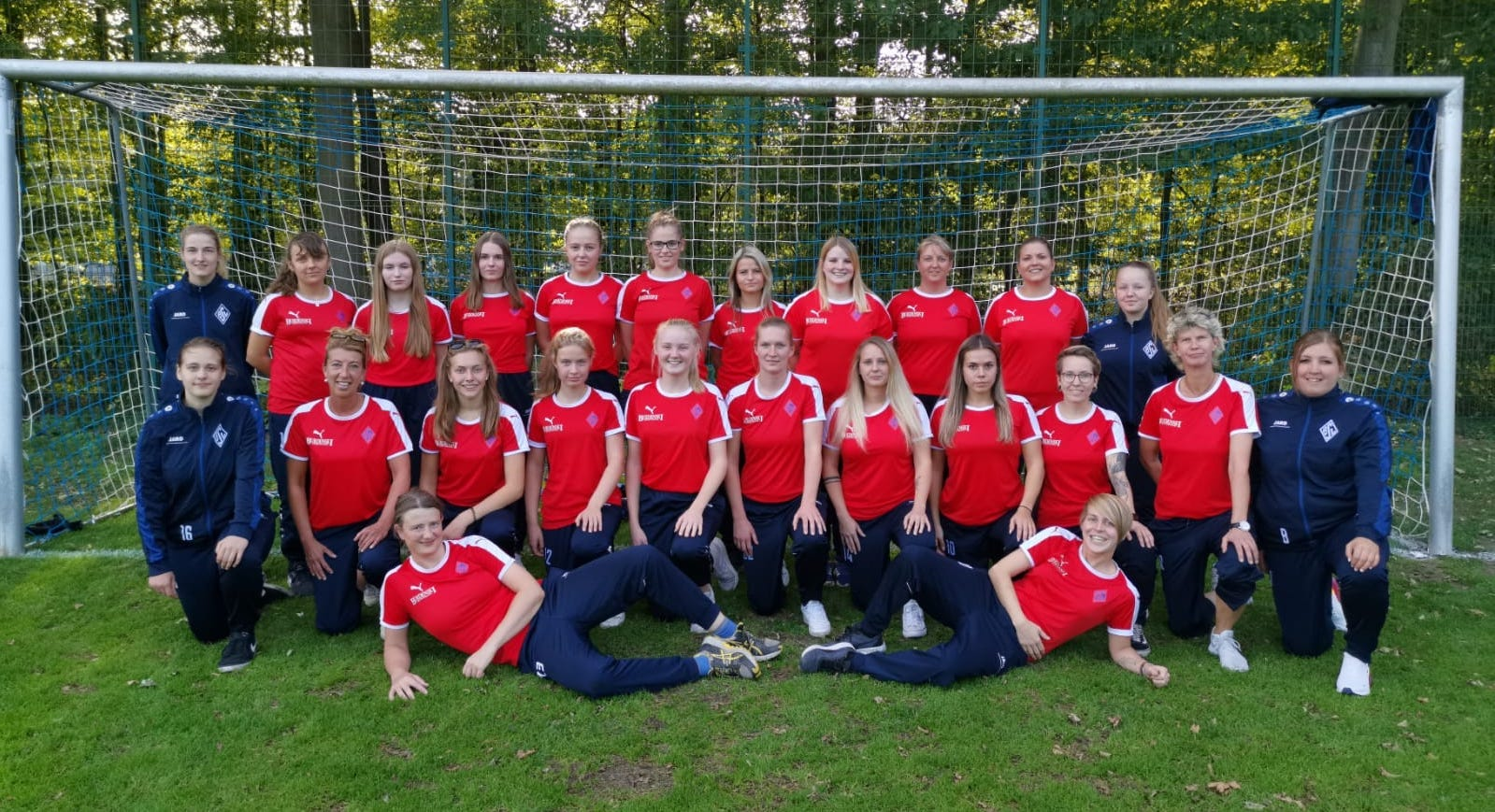 Teamfoto Damen September 2019