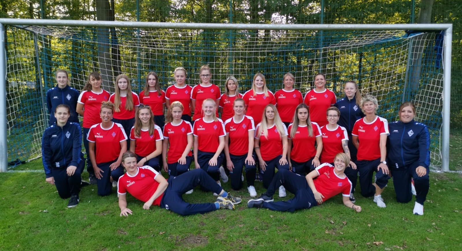 Teamfoto Damen September 2019