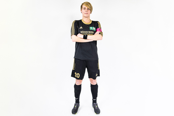 Melanie Rethmeyer Kandidatin Bremer Amateurfußnballerin des Jahres 2019