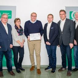 Torsten Hennecke DFB-Ehrenamtspreis Kreissieger Bremen-Nord