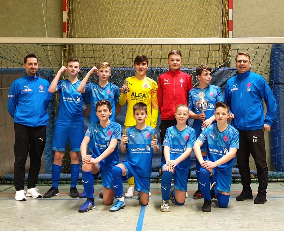 BSV-U14 Turniersieg SVGO Bremen