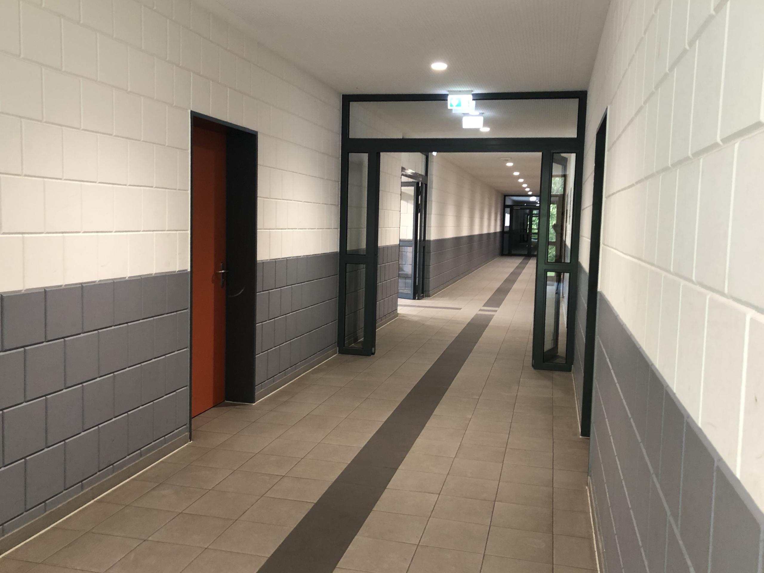 Kabinentrakt Burgwall-Stadion