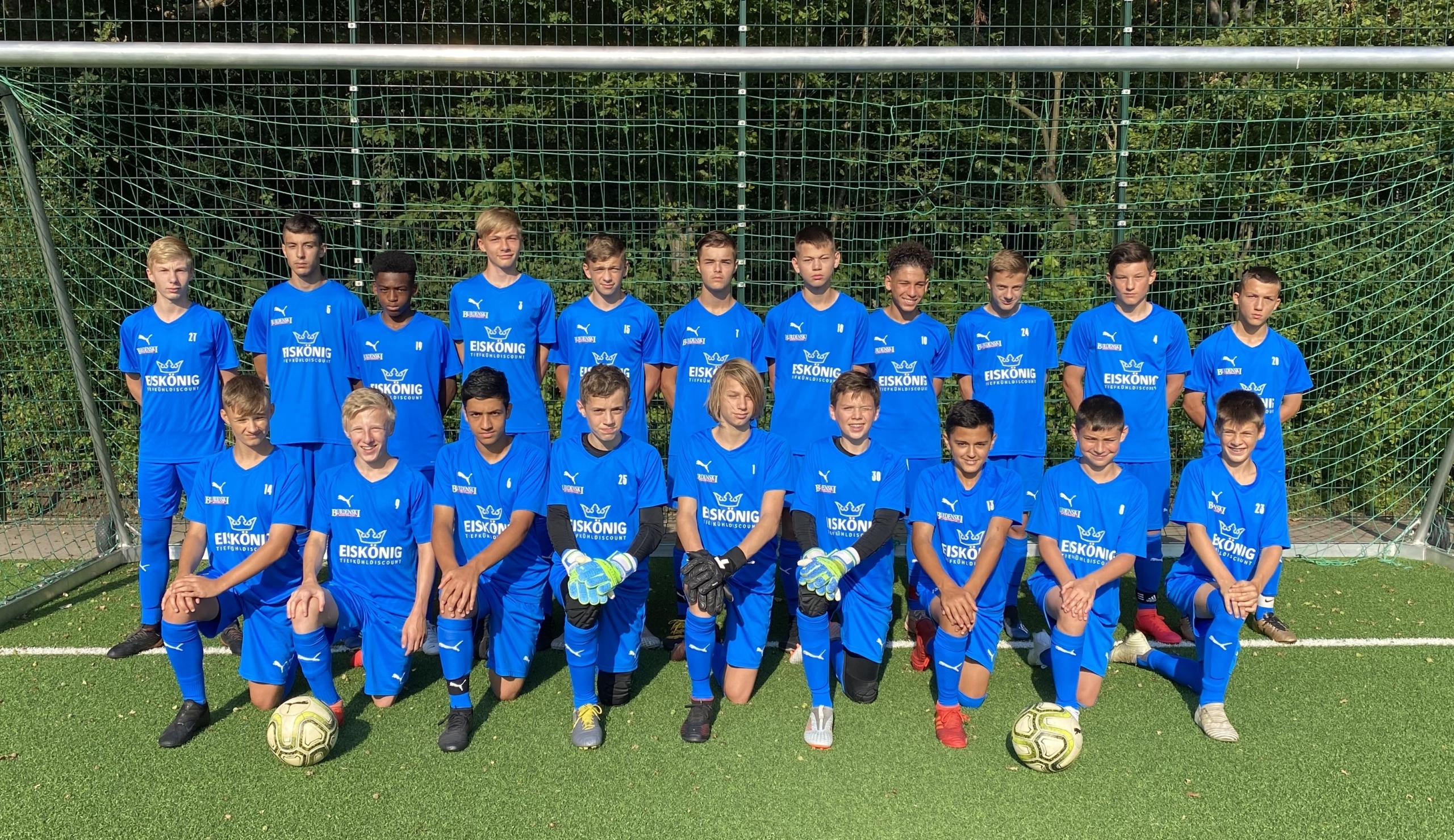 Eiskönig Sponsoring U15-Regionalligamannschaft Blumenthaler SV