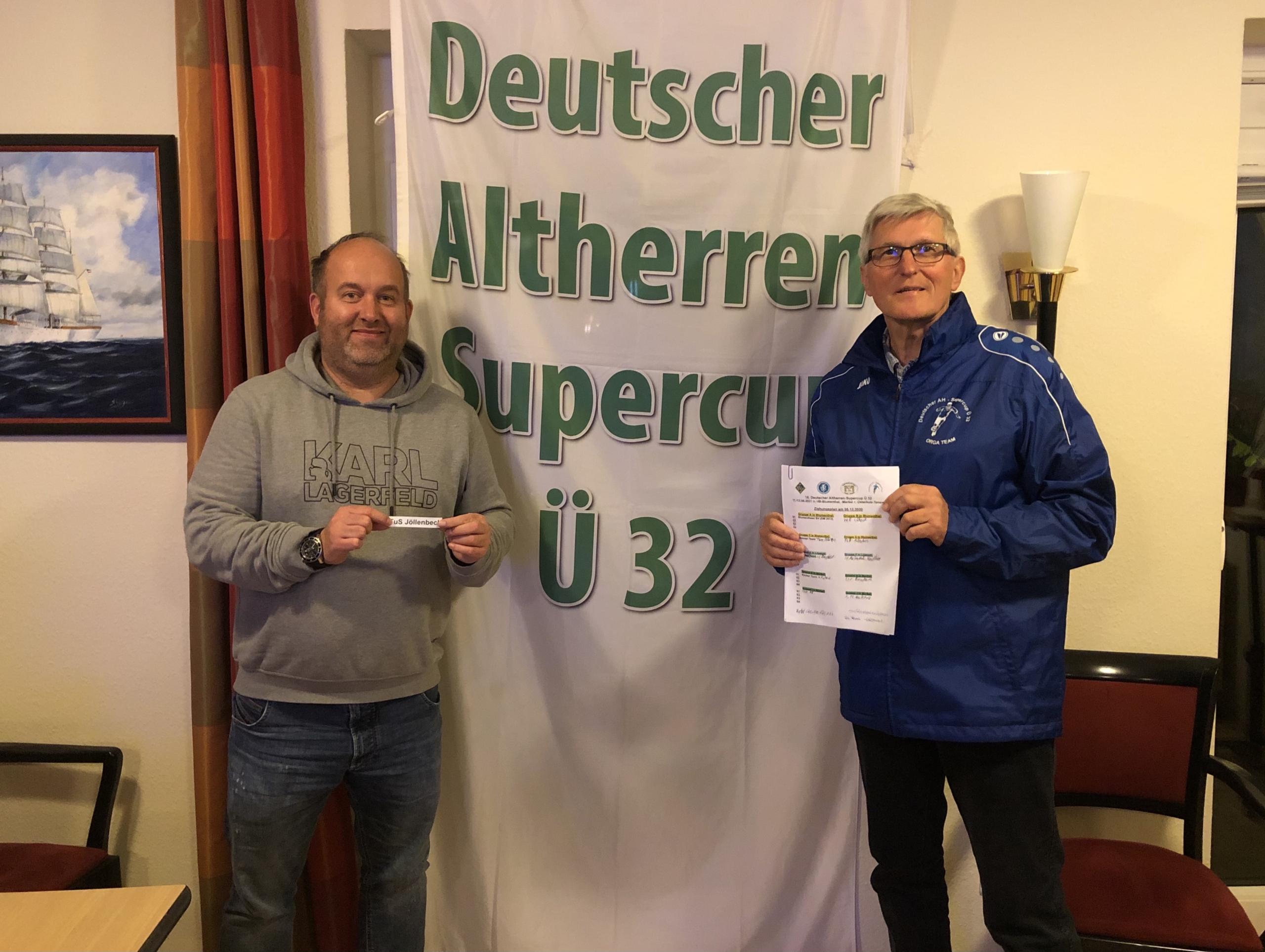 Vorauslosung 16. DAHSC Ü32 2021 Blumenthaler SV