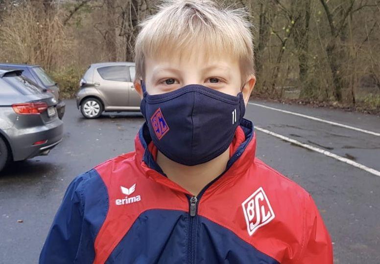 BSV-Masken Ulrich Thöle Weihnachten 2020