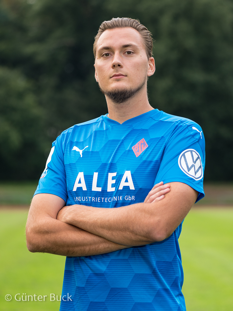 Kilian Lammers Kapitän 1. Herren Blumenthaler SV Bremen-Liga
